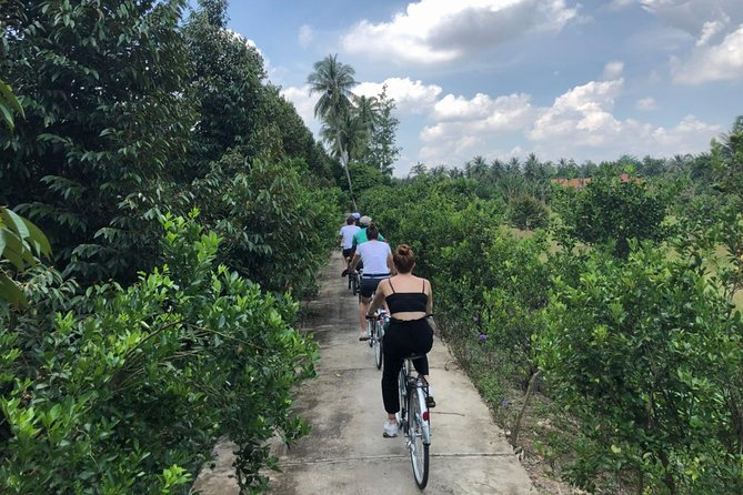 NON-TOURISTY MEKONG with BIKING 1 DAY