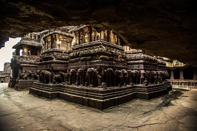 Ancient Ajanta & Ellora Buddhist Caves from Aurangabad
