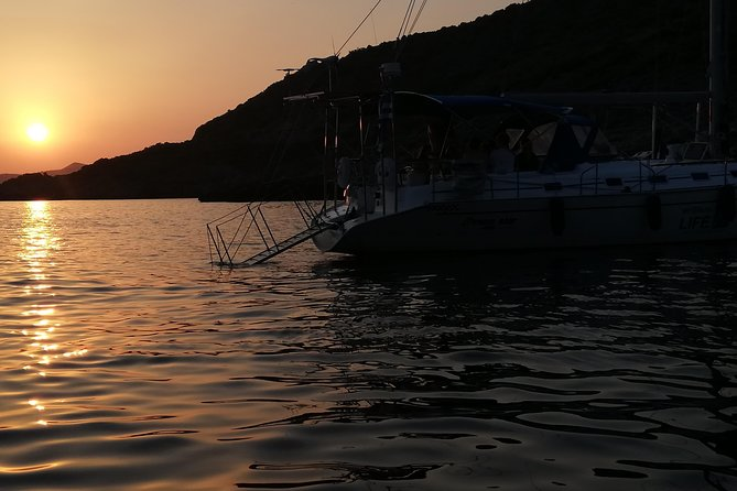 Private Sunset Sailing Cruise from Kalamata, Koroni, Kardamili, or Stoupa