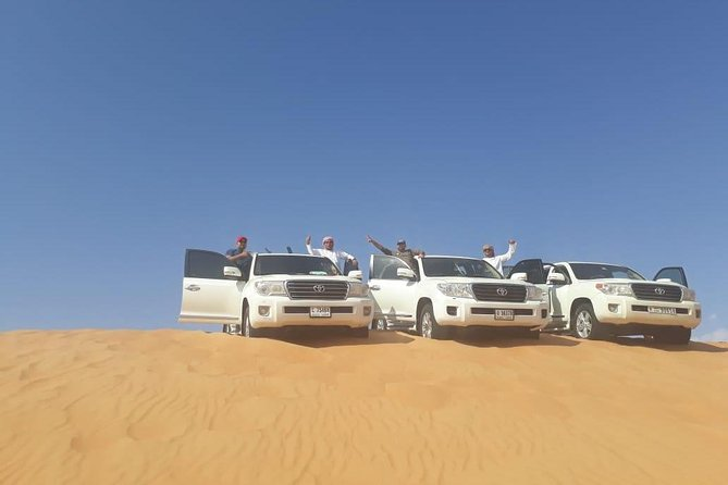 Morning Desert Safari with Sand boarding and Dune Bashing