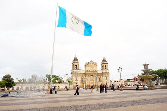 Shared shuttle - Panajachel to Guatemala City (airport)