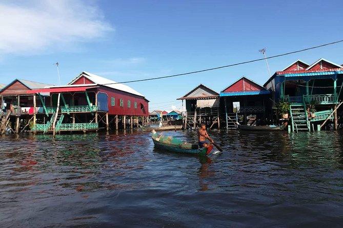 Tonle Sap floating village and Artisans D' Angkor