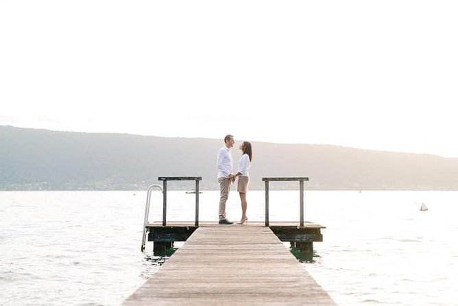 Private photo shoot at Lake Annecy