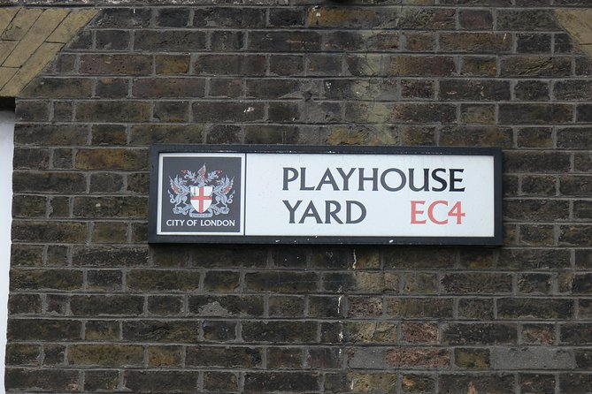 Shakespeare London Walking Tour