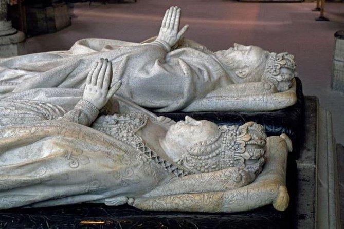 Gisants de Henri II et de Catherine de Médicis © Patrick Cadet Centre des monuments nationaux