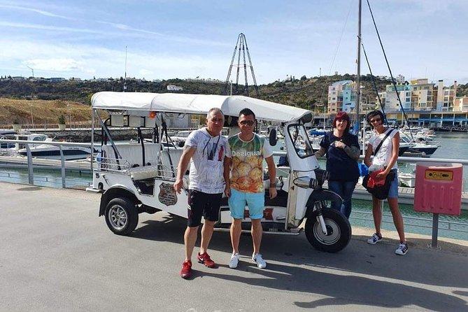 Travel on our tuk tuk beach tours