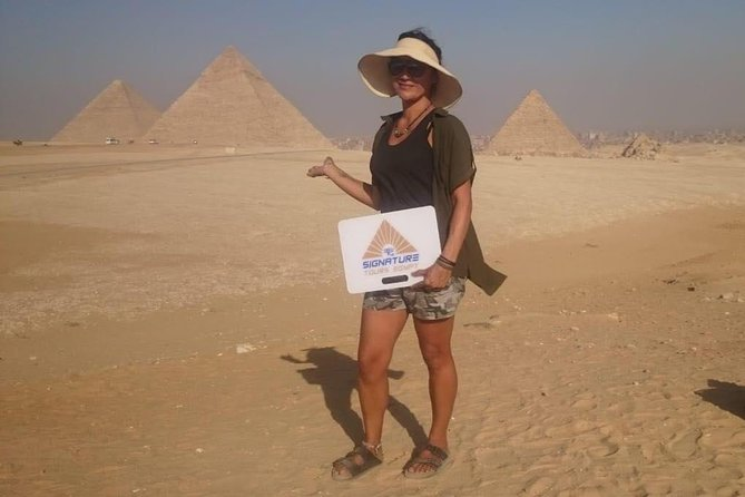 Day Tour To Giza Pyramids and Egyptian Museum in Cairo