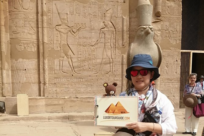 Day Trip to Edfu & Kom Ombo temples from Luxor and drop off in Aswan or Luxor