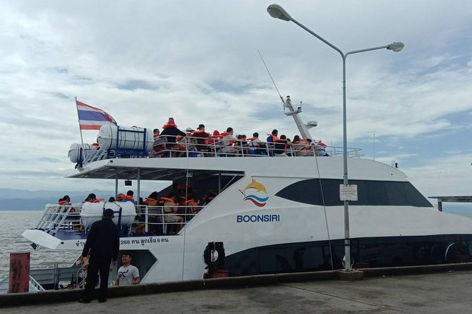 Official - Trad to Koh Kood by Boonsiri Bus and High Speed Catamaran photo 1