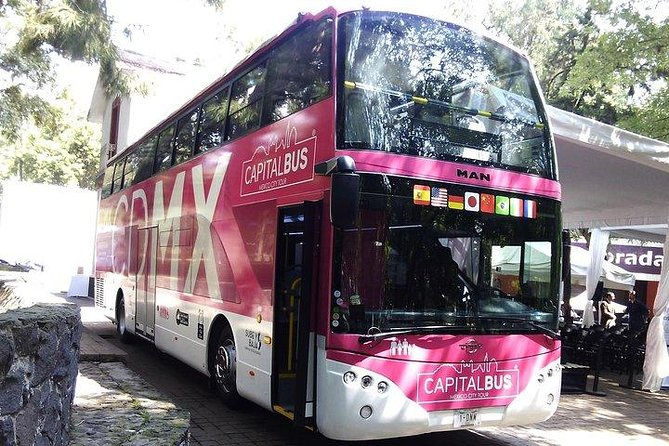 Capital Bus Hop-On Hop-Off and Admission Kidzania in Mexico City
