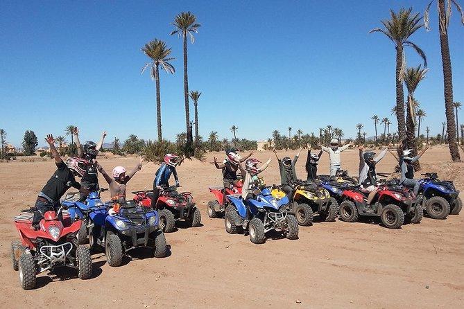 Quad Palmery and quad biking In Marrakech