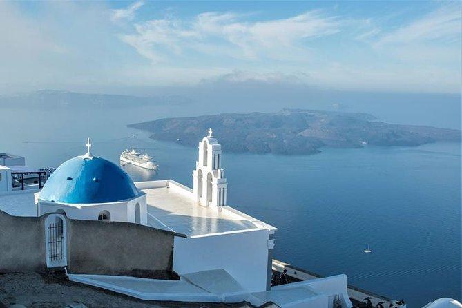 Santorini's Panoramic Blue Shade Tour