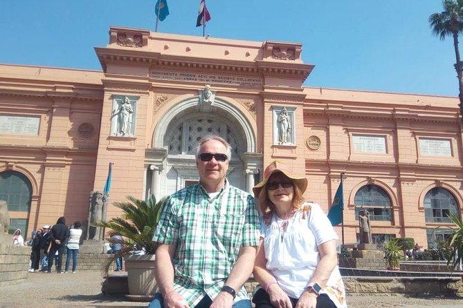 City tour in Egyptian Museum, Coptic Cairo and Khan El-Khalili Bazaar