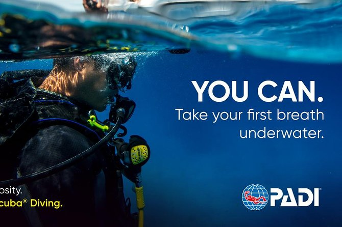 Aruba PADI Discover Scuba Diving Program Non Certified Divers