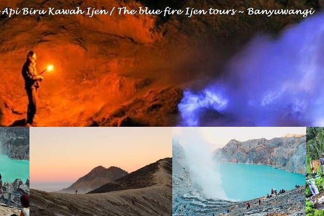 Blue fire tours of Ijen crater - Banyuwangi