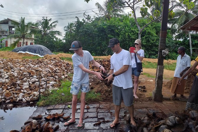 Work With Local Coir Mill
