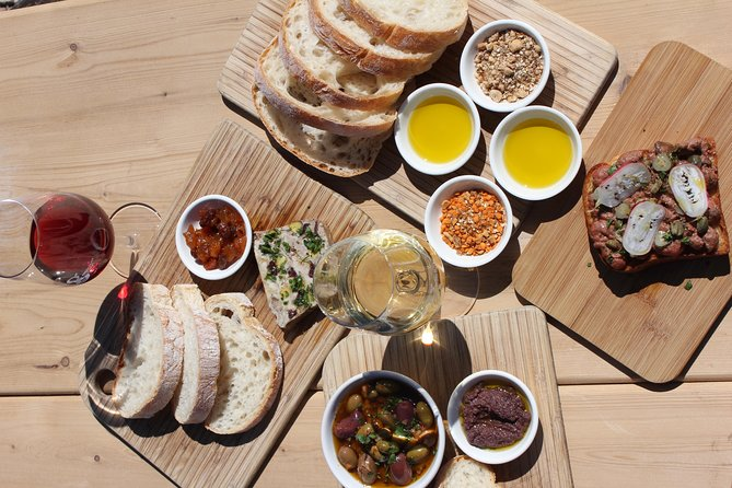 Farmer's Lunch - Tapas and Wine for 2 People