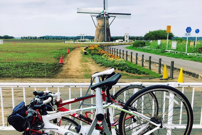 4 Rivers Cross-bike tour in Tokyo-country-side from Chiba-new-town-Chuo