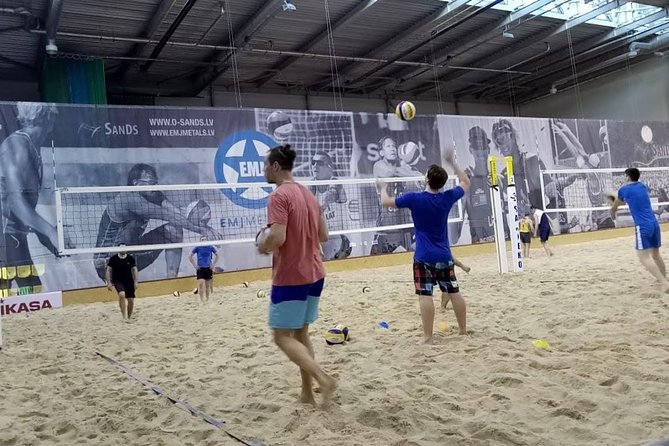 Riga Beach Volleyball Experience