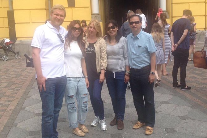 Private Kyiv City Tour by Car with Local Guide