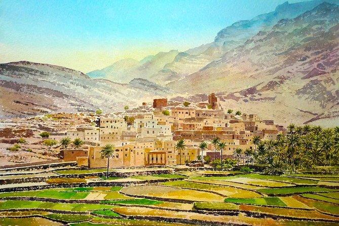 Billad Sayt (Day trip) 4WD :Oman Shore excursions