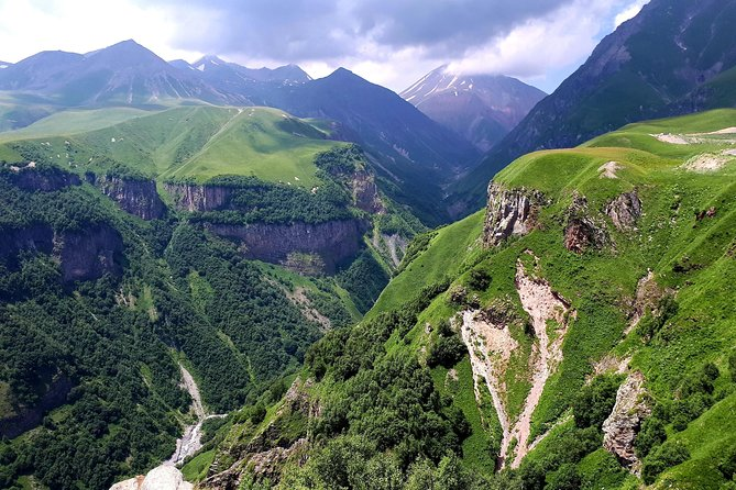 Kazbegi is a mountaineer's first love