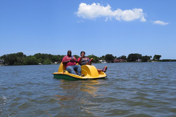 Family Friendly Pedal Boat Rental