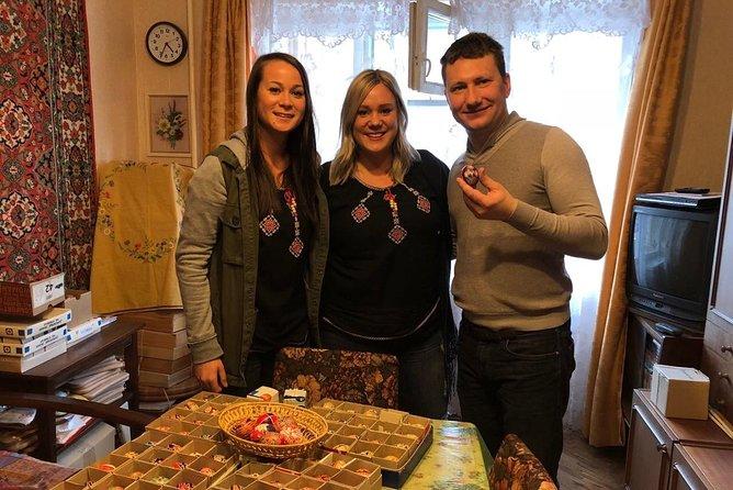 Taller privado de pintura de huevos de Pascua de Kiev