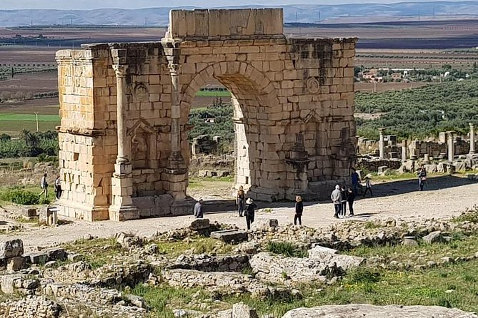 Private Day trip to Volubilis, Moulay Idriss and Meknes from Fez
