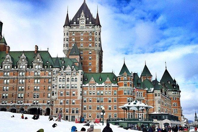Quebec City & Ice Hotel VIP Day Trip