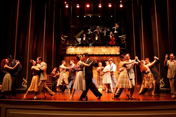Palacio Tango: Carlos Gardel Tango Show with Optional Dinner
