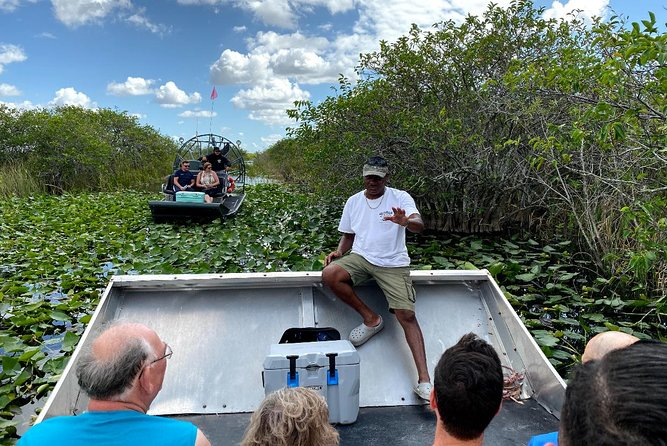 1 Hour Private Airboat In Everglades