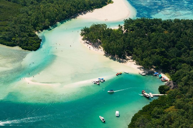 >TAXI ONLY< to ILE AUX CERFS MAURITIUS PARADISE ISLAND CATAMARAN or SPEED BOAT.