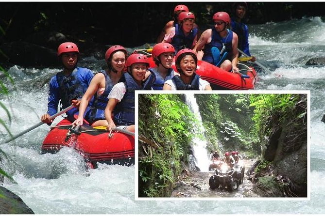 Bali ATV Ride combine Ayung Rafting