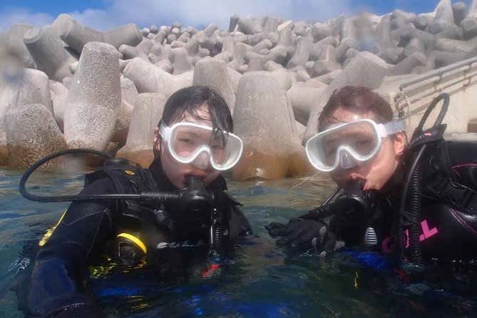 【Okinawa Motobu area】 Trial Beach Diving for non-Certified Diver ( 1 Dive) only for one group in the morning and afternoon