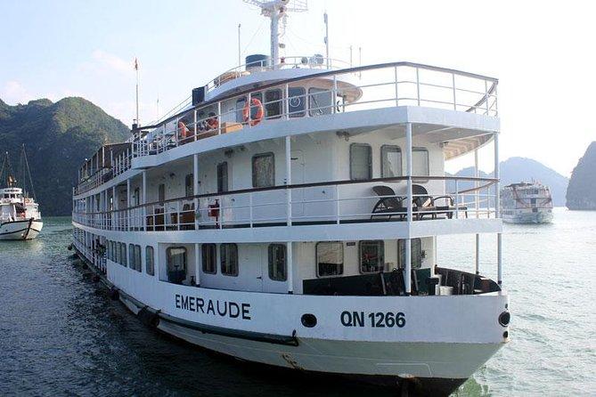 Halong Cruise 2 Days 1 Night - Emeraude Cruise 5 star