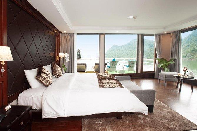 La pinta Cruise 2 Days 1 Night (Halong Bay- Lan Ha Bay-Cat Ba- 5 star cruise)
