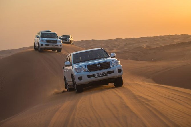 Dubai Desert Safari with Dune Bashing,BBQ, Belly Dances
