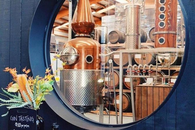 Private Tour: Yarra Valley- Brewery, Distillery, and Wine