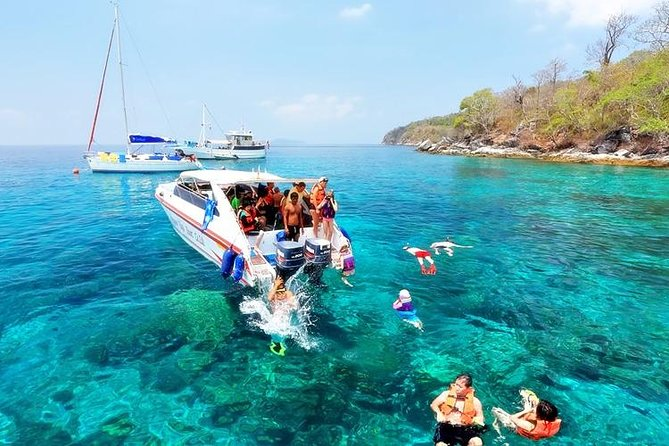 Private Speed Boat Raya and Coral Islands
