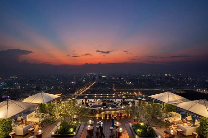 Half-Day Sora Skybar Sunset Experience with Drinks