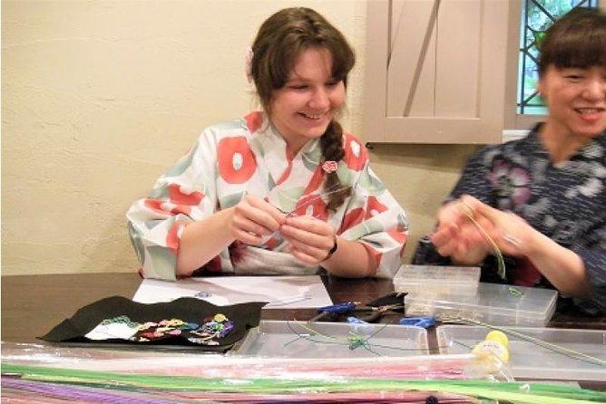 Mizuhiki making experience - Japanese traditional crafts workshop