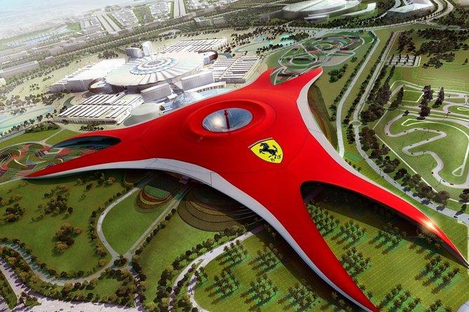 Abu Dhabi City tour+Ferrari with Sharing Transfers