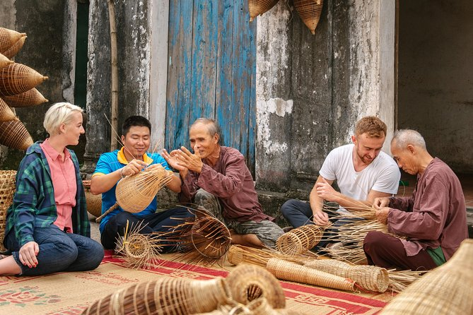 Half day city tour & farming life experience in the outskirt of Hanoi
