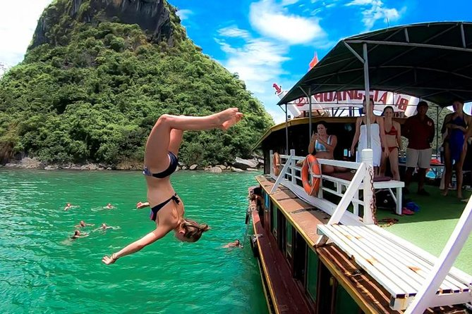 Lan Ha Bay -Cat Ba Island Full Day Tour: Jumping Off Boat-Transfer by Expressway
