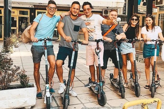 E scooter tour to Ada lake