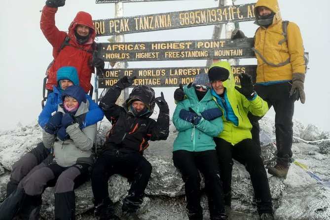 7days machame route kilimanjaro