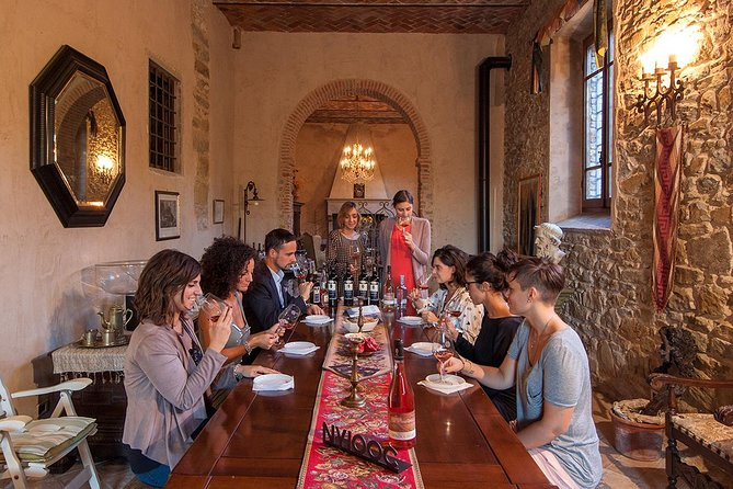 Wine Tasting inside a magnificent Tuscan Renaissance Villa