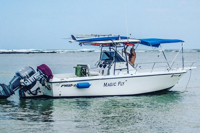 private boat operator, fishing, surfing, snorkling, and watersport