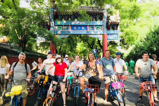 Beijing Four-hour Private Bicycle City Tour With a Private Guide